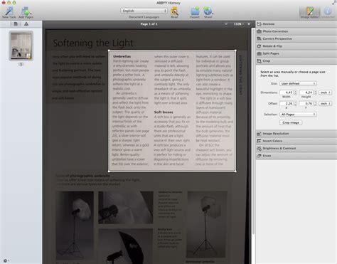 ocr software  mac abbyy finereader pro  mac