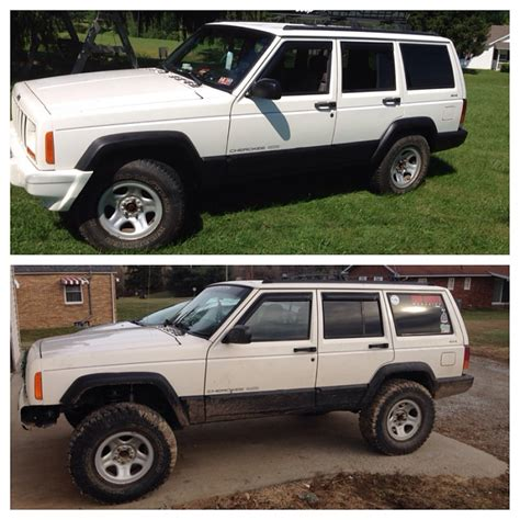 xj with 3 5 inch lift jeep forum