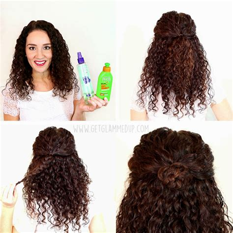 Hairstyles For Hair Easy by Easy Hairstyle For Curly Hair Curly Hair