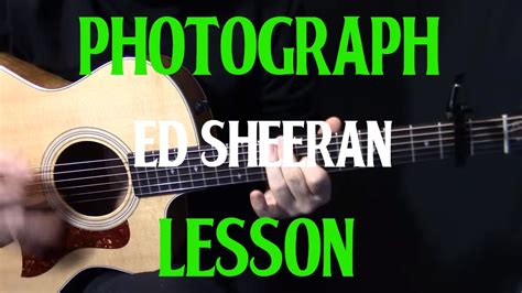 tutorial guitar photograph how to play quot photograph quot on guitar by ed sheeran easy