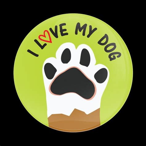 i my puppy dome badge i my