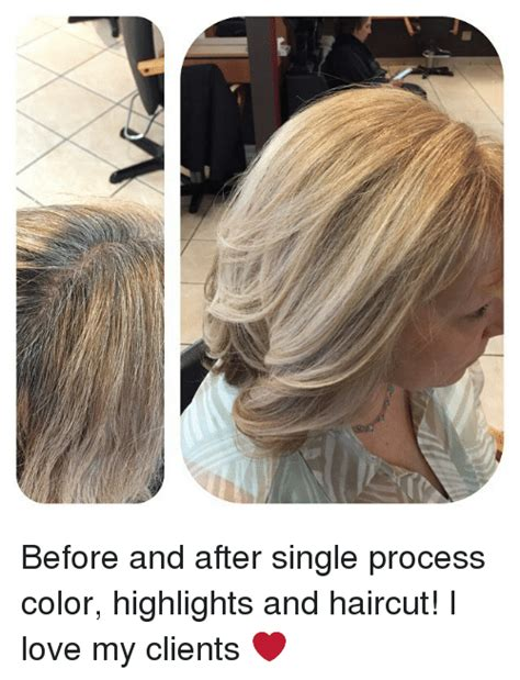 single process color before and after single process color highlights and