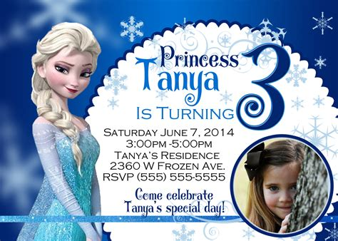 frozen birthday invitation template search results for invitations blank template