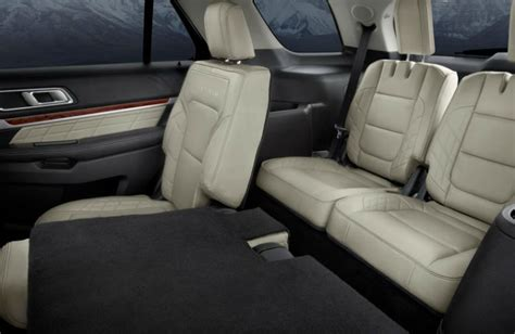 2013 ford escape 3rd row seating does the ford explorer 3rd row seating