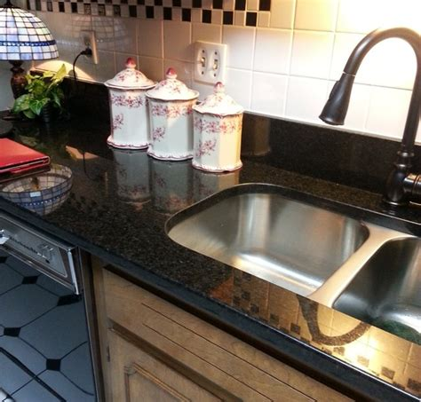 Black Pearl Countertops by Black Pearl Granite Countertop Updating An Kitchen