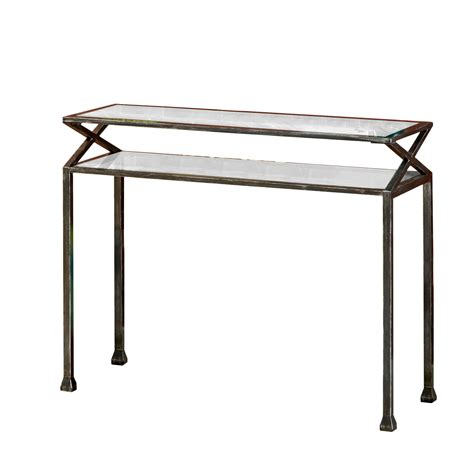 metal console table zipcode design rosetta metal console table reviews