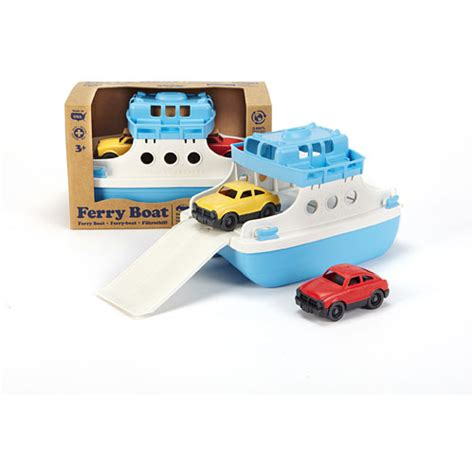 ferry boat with mini cars green toys ferry boat with mini cars green toys