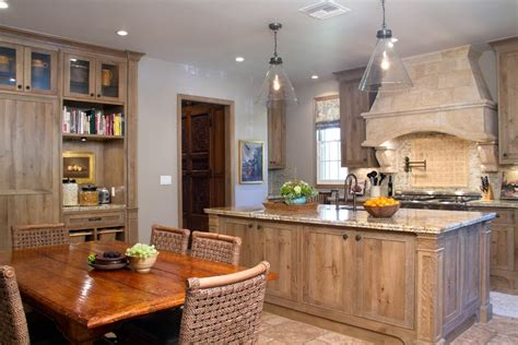 perfect match gorgeous antique and rustic kitchen