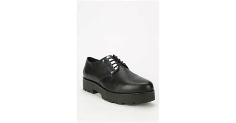 vagabond oxford shoes vagabond platform oxford in black lyst