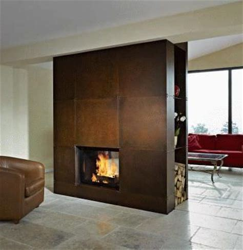 Sided Wood Burning Fireplace by Best 25 Sided Fireplace Ideas On
