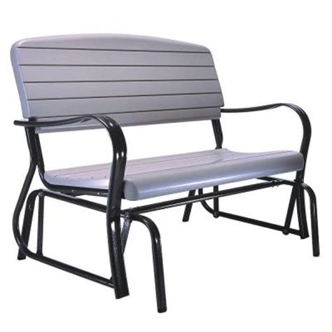 home depot paint glider lifetime outdoor patio glider bench 2871 the home depot