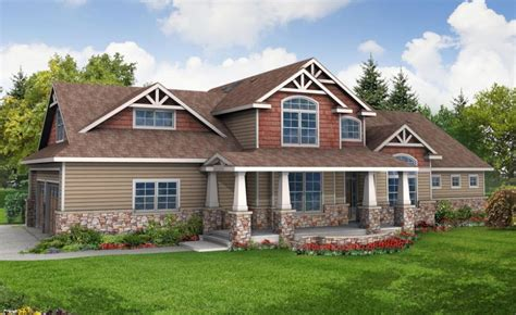 craftsman home plans one story craftsman house plans