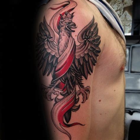 polish eagle tattoo 60 eagle designs for coat of arms ink