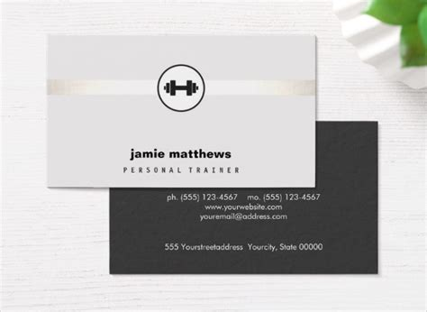 Fitness Instructor Business Card Templates by 25 Fitness Business Card Templates Free Premium