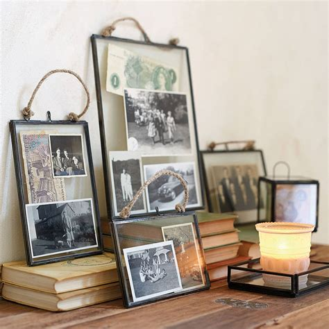 how to hang a picture frame original glass hanging frame jpg