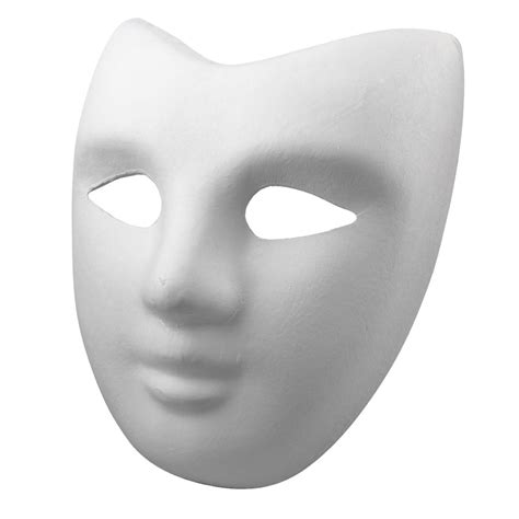 Paper Mask For - creatology mask white paper