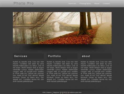 tutorial css template 33 best free css web templates for web designers