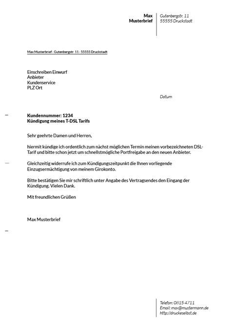 Musterbrief Kündigung Handyvertrag Mobilcom Drucke Selbst Kostenlose Vorlagen F 252 R K 252 Ndigungsschreiben