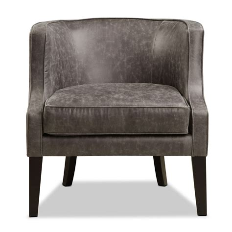 casey accent chair gray  city furniture  mattresses