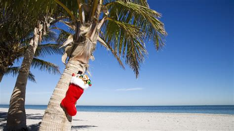 images of christmas on the beach christmas beach wallpapers wallpaper cave