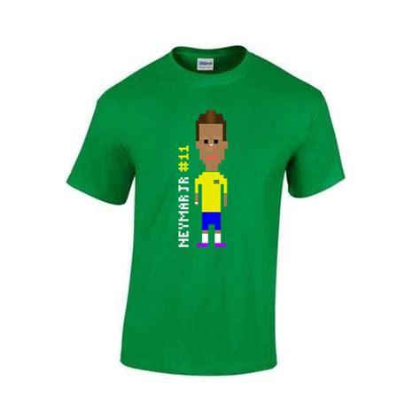 Kaos Gildan Neymar Nike neymar player t shirt green tshirtgreenkids 19 48 football shirts football kit