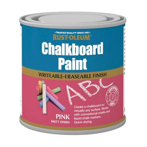 chalkboard spray paint uk rust oleum chalkboard blue 250ml