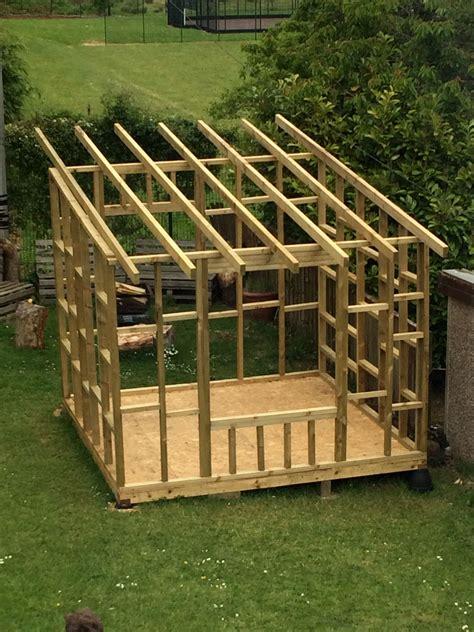 framework  garden room building  shed backyard shed