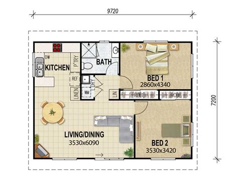 flat plans granny flat plans archive house plans queensland
