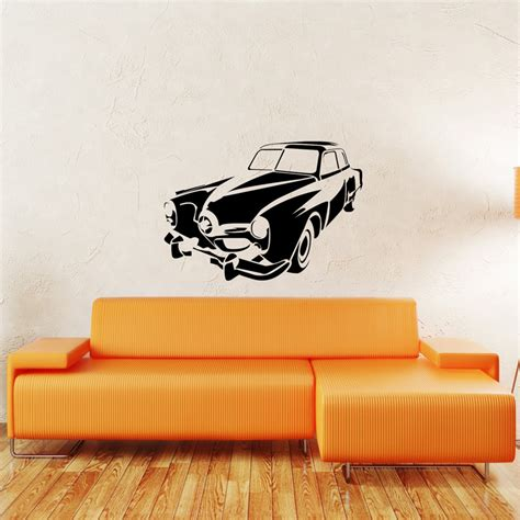vehicle wall stickers vintage car wall sticker removable wall stickers and wall decals