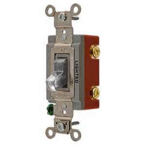hubbell light switch shop hubbell 15 20 single pole clear toggle indoor