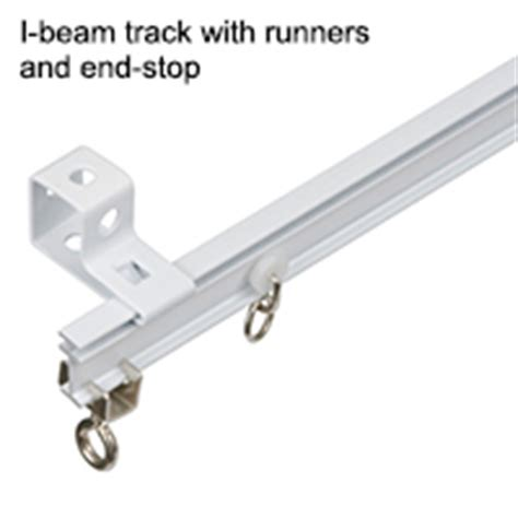 i beam track curtains curtain rods and drapery hardware buyer s guides rona