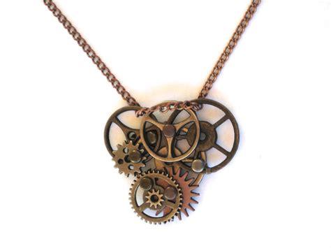 Steampunk Gear Necklace by jjewelry on DeviantArt