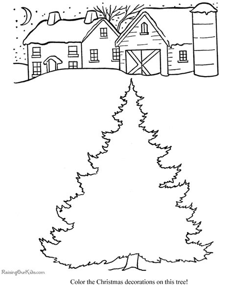 decorate your own christmas tree worksheet decorate the tree coloring pages 012