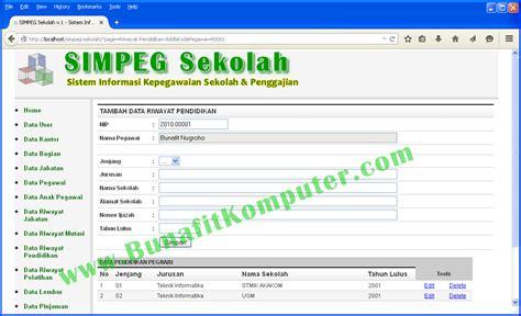 contoh desain database aplikasi koperasi contoh database sistem informasi akademik fontoh