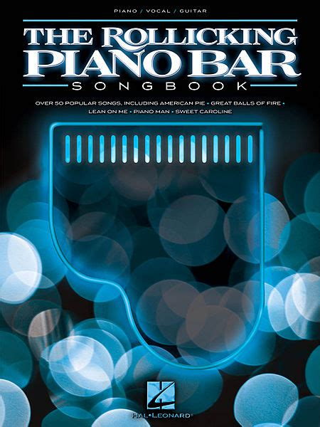 the rollicking piano bar songbook sheet by various
