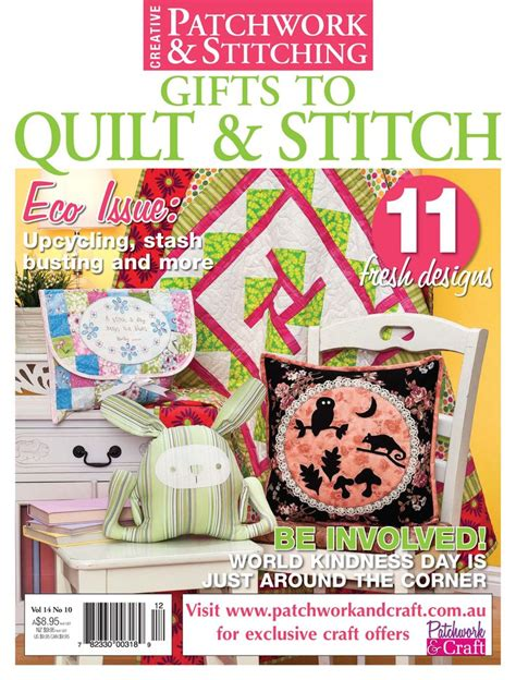 Patchwork And Stitching Magazine - 17 best images about patchwork stitching magazine on