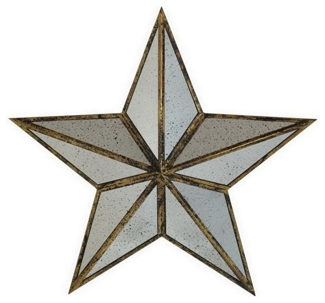 metal star home decor shop houzz large silver metal mirror star wall art home