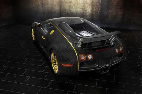 mansory bugatti bling it again mansory bugatti veyron linea vincero d oro