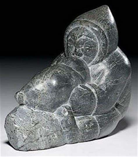 What Is Soapstone Worth Carving Eskimo Smiler Isa Soapstone Seal Float