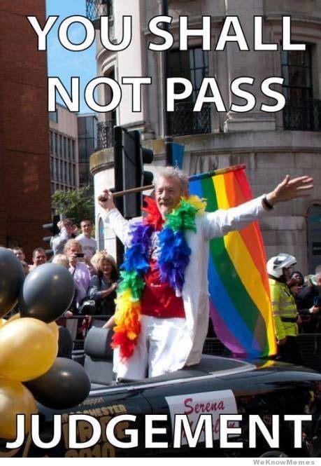 Gay Pride Meme - gandalf the gay weknowmemes