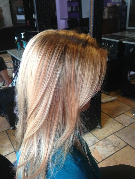 copper blond hair wiki blonde color with gold copper highlight and a cut august