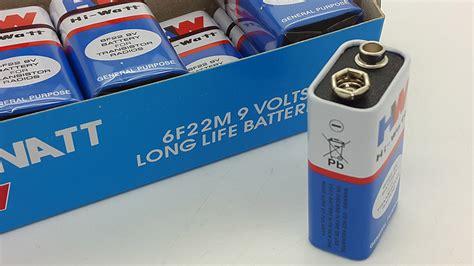 Baterai Kotak 9v jual baterai 9v battery 9 volt baterai kotak merk hw
