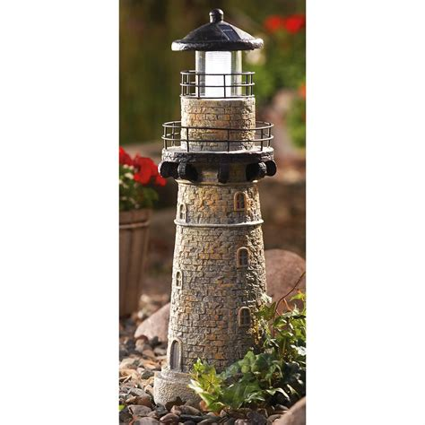 Westinghouse 174 Lighthouse Solar Garden Light 148353 Light House Solar