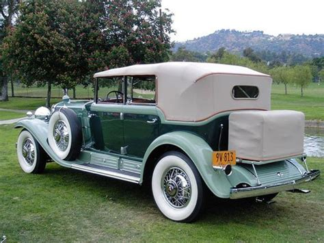 1930s Cadillac by 1930 Cadillac V 16 Convertible Sedan Voitures Anciennes