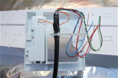 telephone wiring colour code telephone extension socket