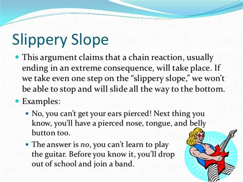 slipper slope fallacy hasty generalization fallacies in the news