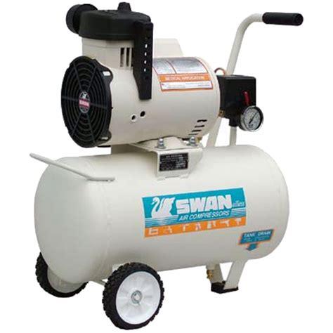Kompresor Swan 1 2 Hp Swan 1 5hp 22liter Silent Less Air Compressor My