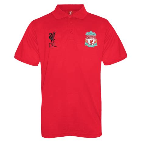 Tshirt Liverpool Desain Nv Liverpool 40 liverpool fc official football gift mens crest polo shirt