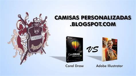 corel draw x6 vs photoshop cs6 corel draw vs adobe illustrator parte 1 de 2 youtube