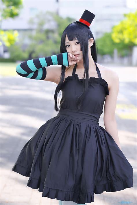 Mio Green Dress akiyama mio arm warmers dress green legwear